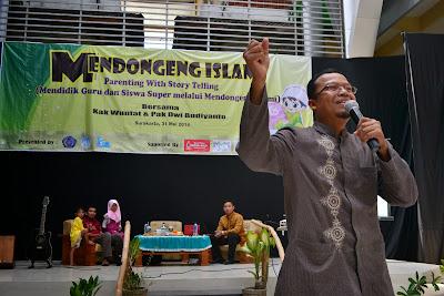 seminar nasional mendongeng islami kak wuntat