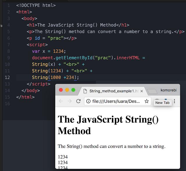 komorebi: [JavaScript] Type Conversion