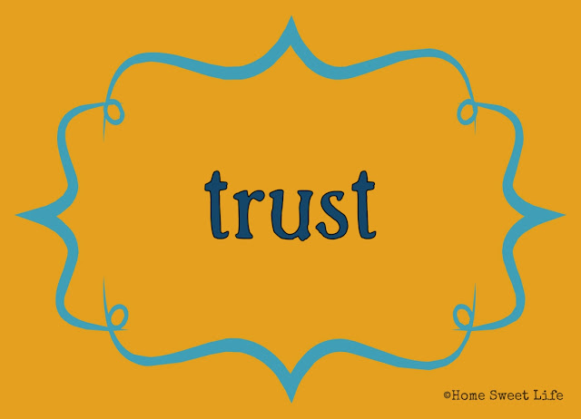 Christian living, 31 day writing challenge, trust