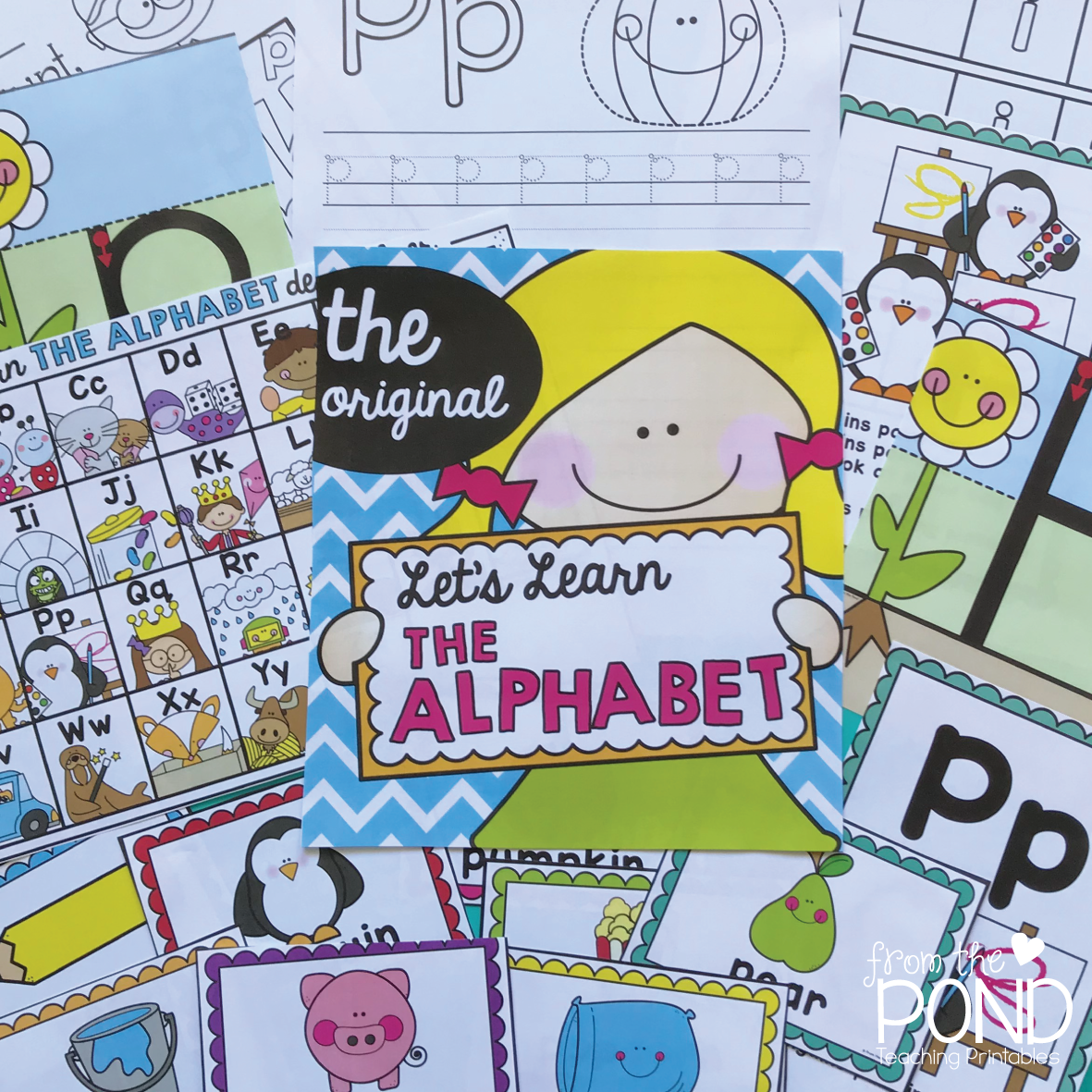 learning the alphabet in kindergarten