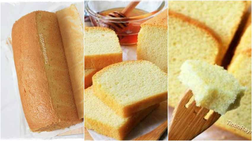 Resep Membuat Castella Japanese Honey Cake ( Kasutera) Versi 2 NO SP / BP / Oilfree
