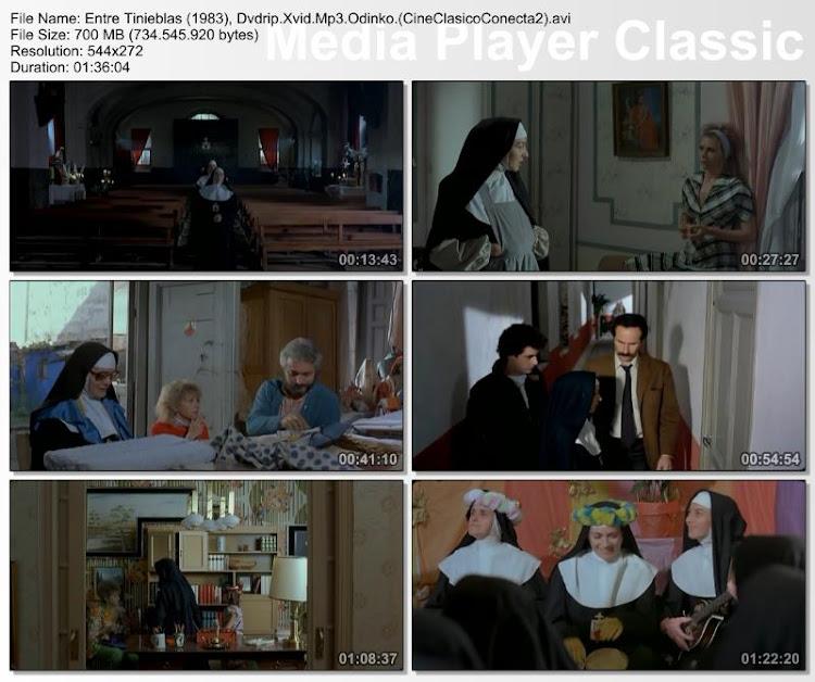 Entre tinieblas 1983 | Secuencias de la película - Pedro Almodovar