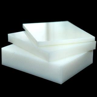 Tấm thớt nhựa PE đặc dày 10mm - 100mm dùng làm thớt kê chặt, dập ..