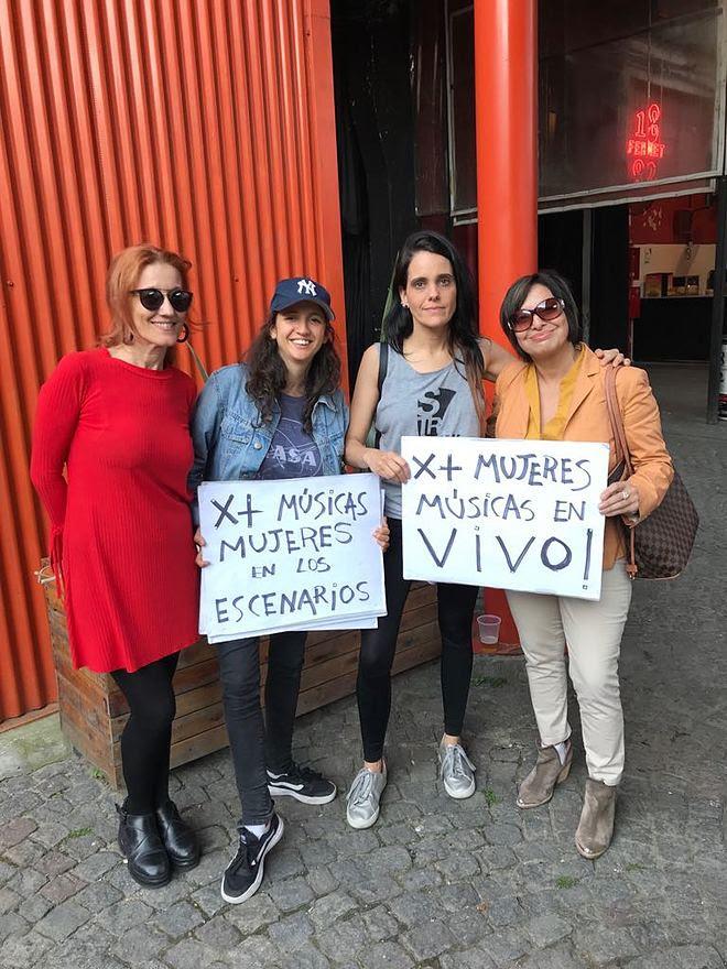 """Mujeres músicas argentinas continúan luchando por la """"Ley de Cupo Femenino"""""""