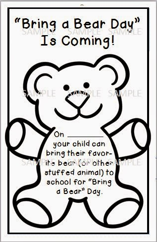 Lovely Literacy & More: Beary Fun Learning