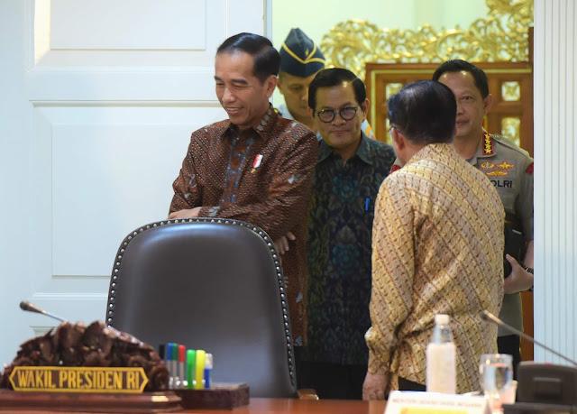 Presiden Jokowi Ingin MRT, LRT, Trans Jakarta, Kereta Bandara, dan Kereta Commuter Terintegrasi