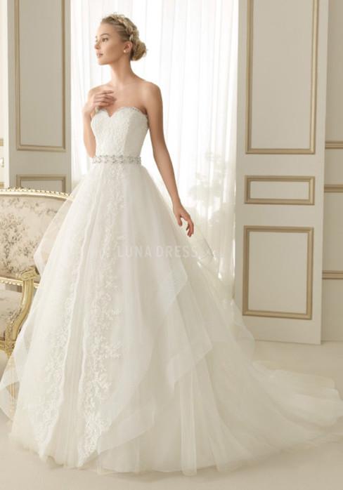 f109e1947d734 2015 autumn and winter white beautiful wedding dress selection ...
