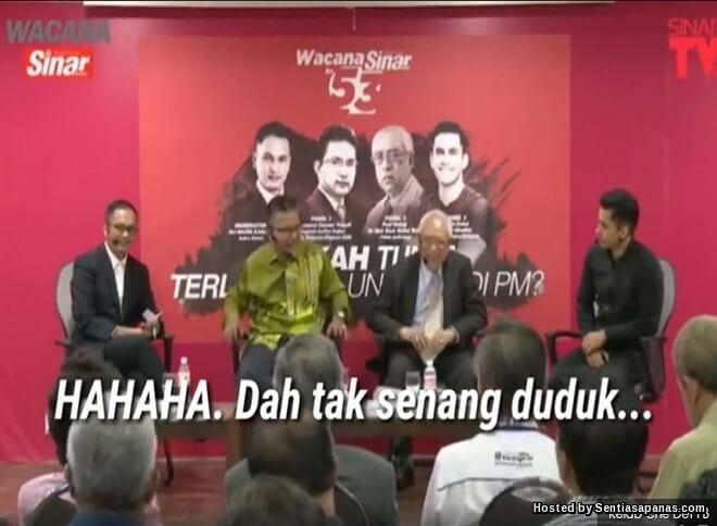 Video Pensyarah UUM 'Terkucil Ketakutan' Depan Tun Mahathir