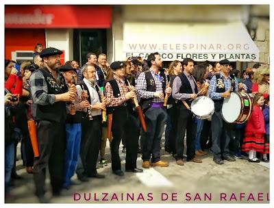 Certamen de Dulzainas de San Rafael. Plaza de Castilla.