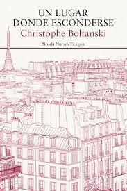 Un lugar donde esconderse Christophe Boltanski
