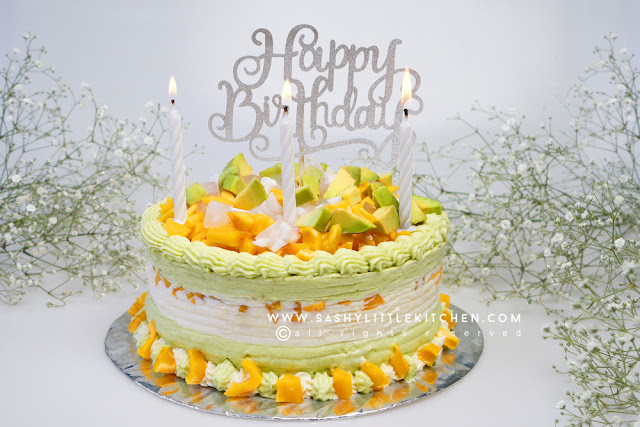 Resep Es Teler Cake