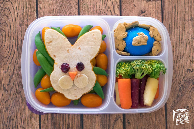 Easter Bunny School Lunch Recipe Idea!