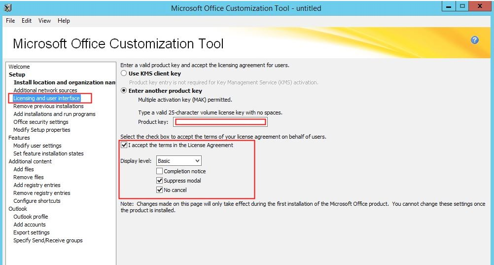 How to deploy office 2016 using SCCM 2012 SP1