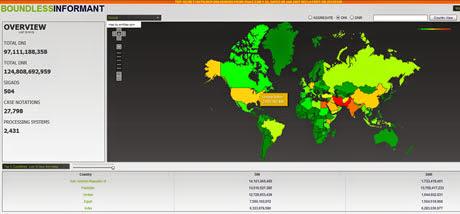 Boundless Informant:Sebuah tool rahasia milik badan NSA amerika