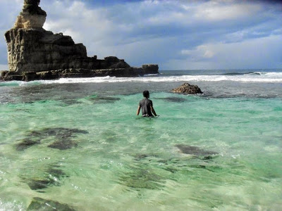 Jernihnya Air Laut Pantai Buyutan