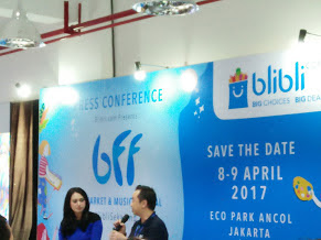 Save The Date! 8-9 April 2017 Have Fun Bersama Keluarga Di  Blibli Fun Festival (BFF)  Art, Market Dan Music Festival