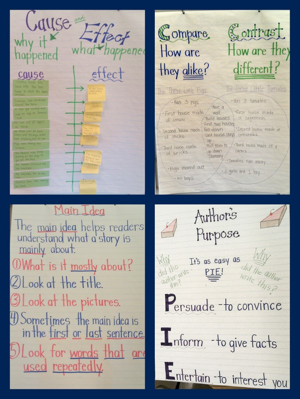 Eclectic Educating Anchor Charts
