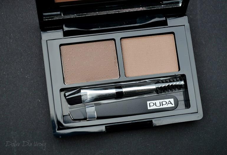 Pupa Eyebrow Design Set 002 Brown - Zestaw do stylizacji brwi w kasetce
