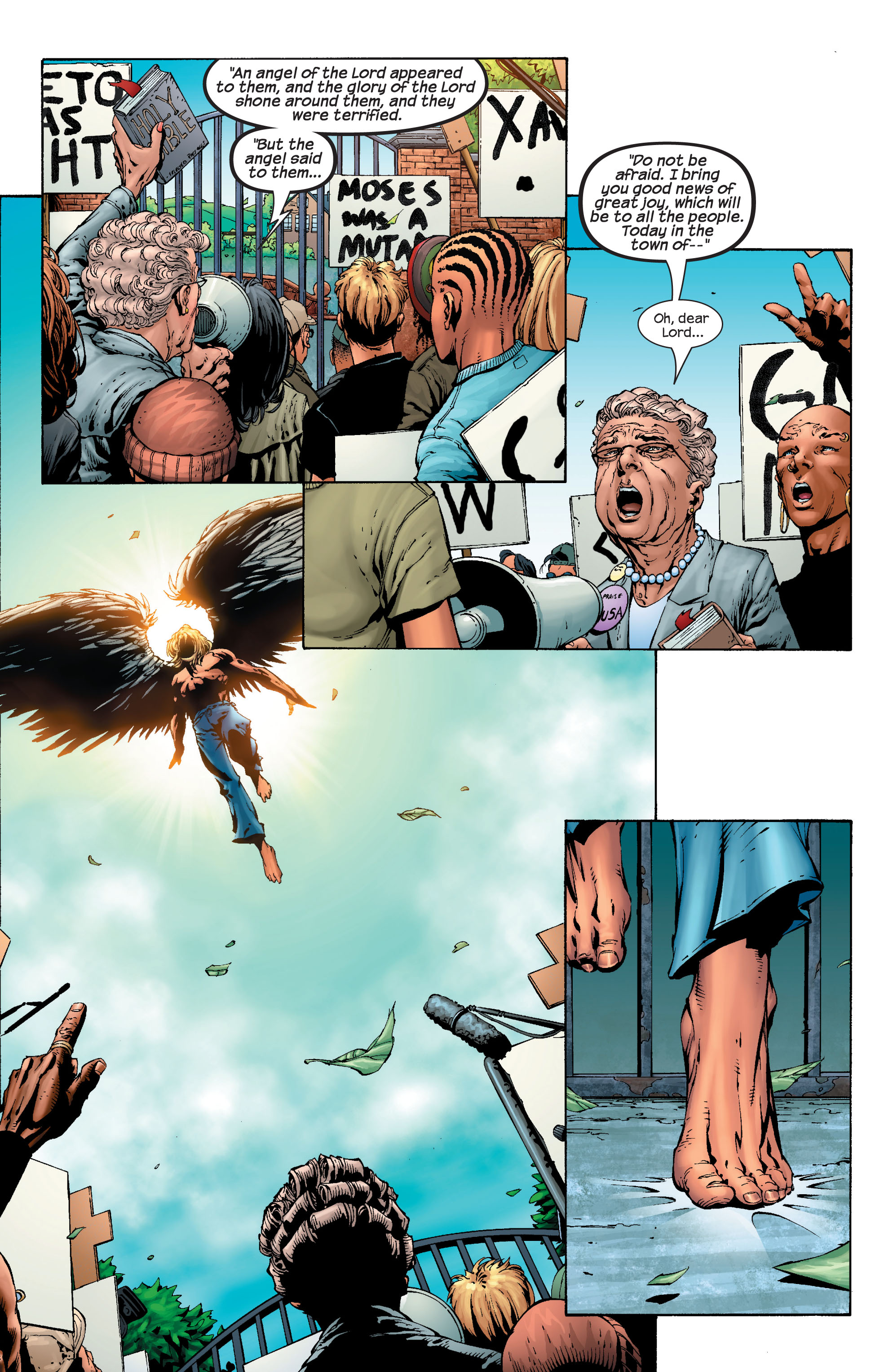 Read online Ultimate X-Men comic -  Issue #40 - 19