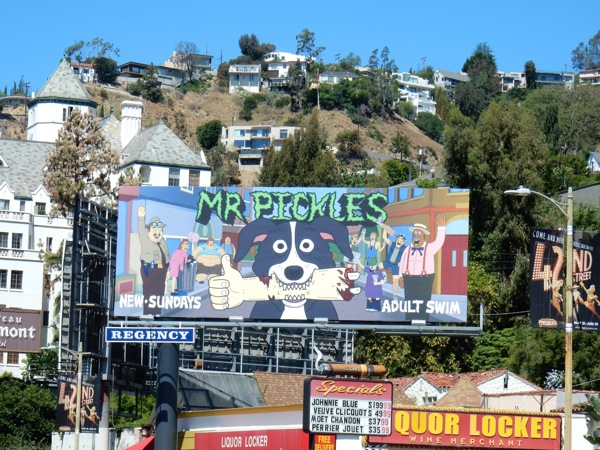 Mr Pickles season 2 billboard