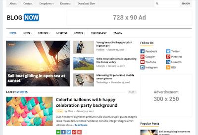 BlogNow WordPress Theme