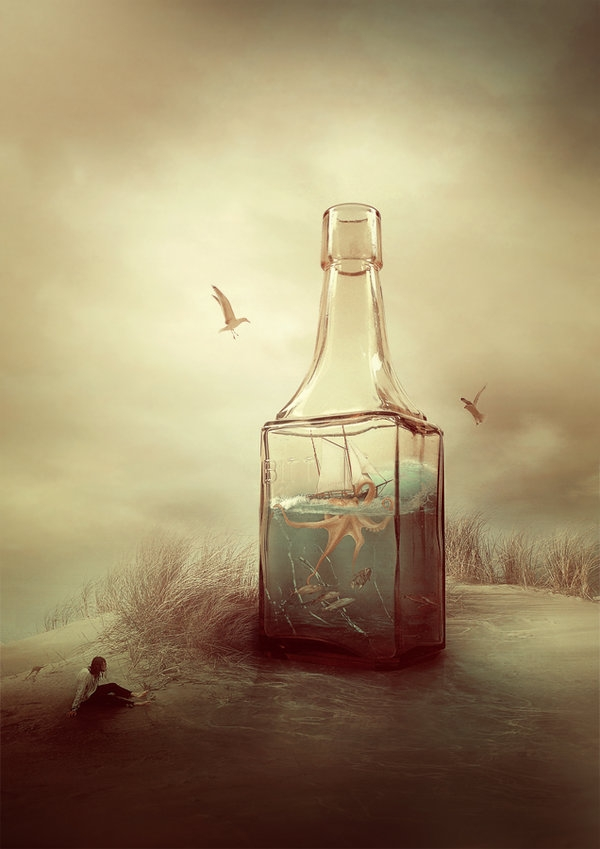 09-Salvation-of-the-Bottle-Amandine-Van-Ray-Mixing-Marine-and-Dry-Land-in-the-Worlds-of-Surrealism-www-designstack-co
