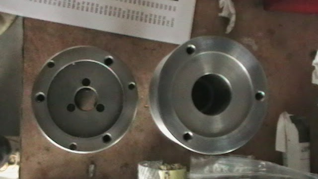 collet cloture bolt circle compared to 3 jaw chuck