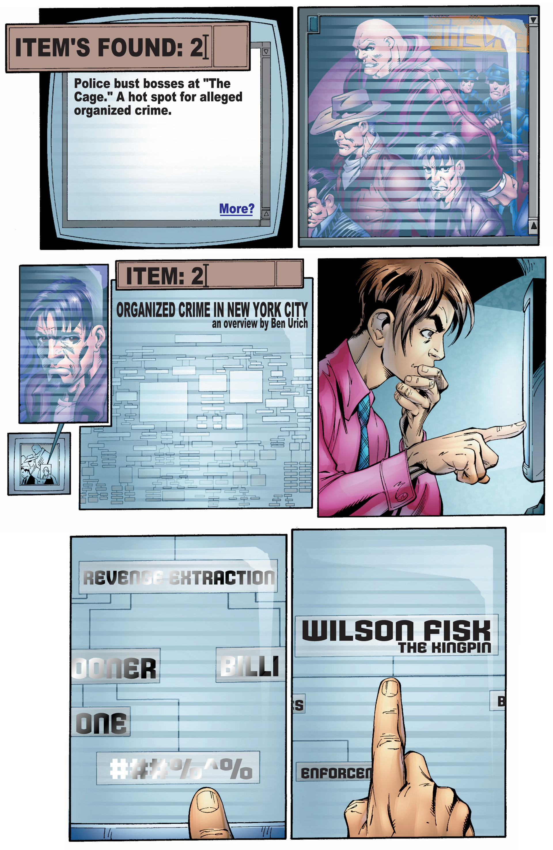 Read online Ultimate Spider-Man (2000) comic -  Issue #8 - 21