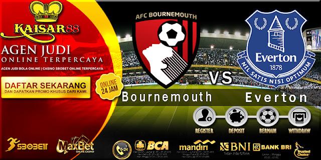 Prediksi Bola Jitu Liga Inggris Premier League AFC Bournemouth vs Everton 30 Desember 2017