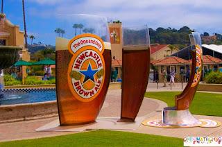 guerrilla-marketing Newcastle brown ale