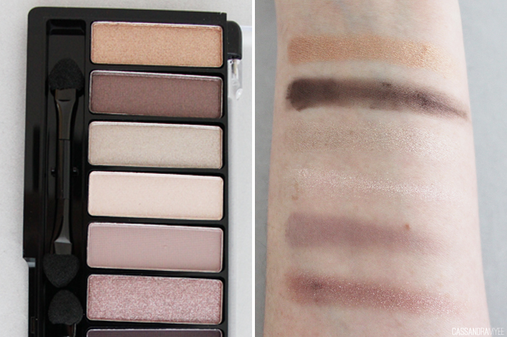 CHI CHI // Glamorous Eye Shadow Palette ELEGANT | Review + Swatches - CassandraMyee