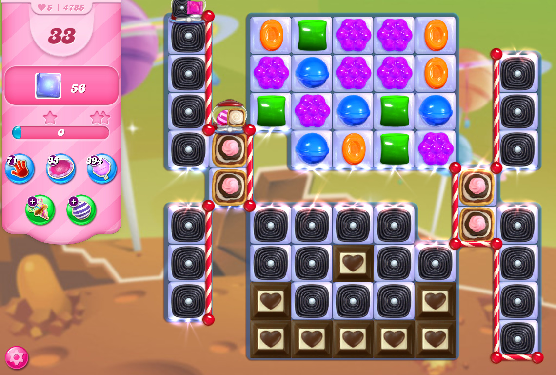 Candy Crush Saga level 4785