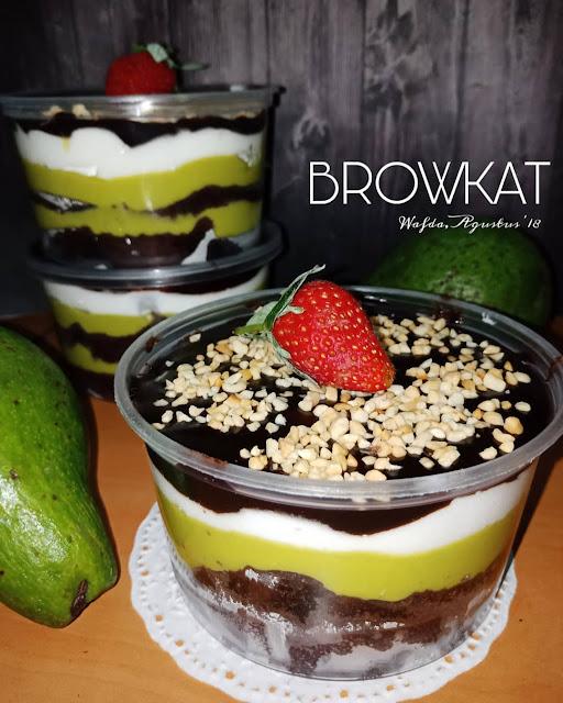 Resep Browkat Brownies Alpukat