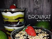 Resep Browkat Brownies Alpukat ala Dapurwafda