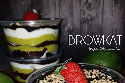 Yuuk Cobain Resep Browkat Brownies Alpukat