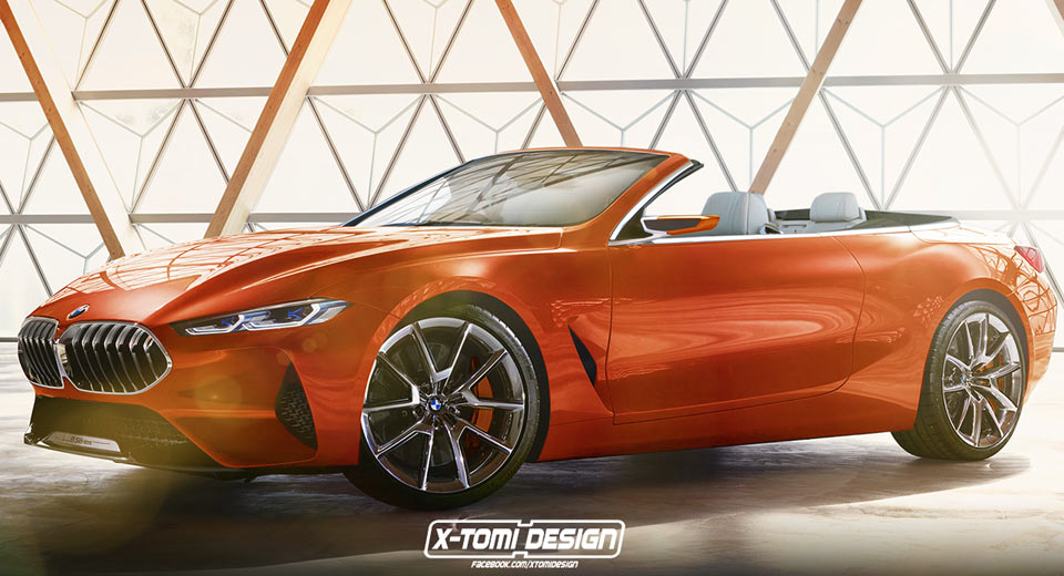 Bmw 8 Series Concept Looks Tempting As A Convertible Too
