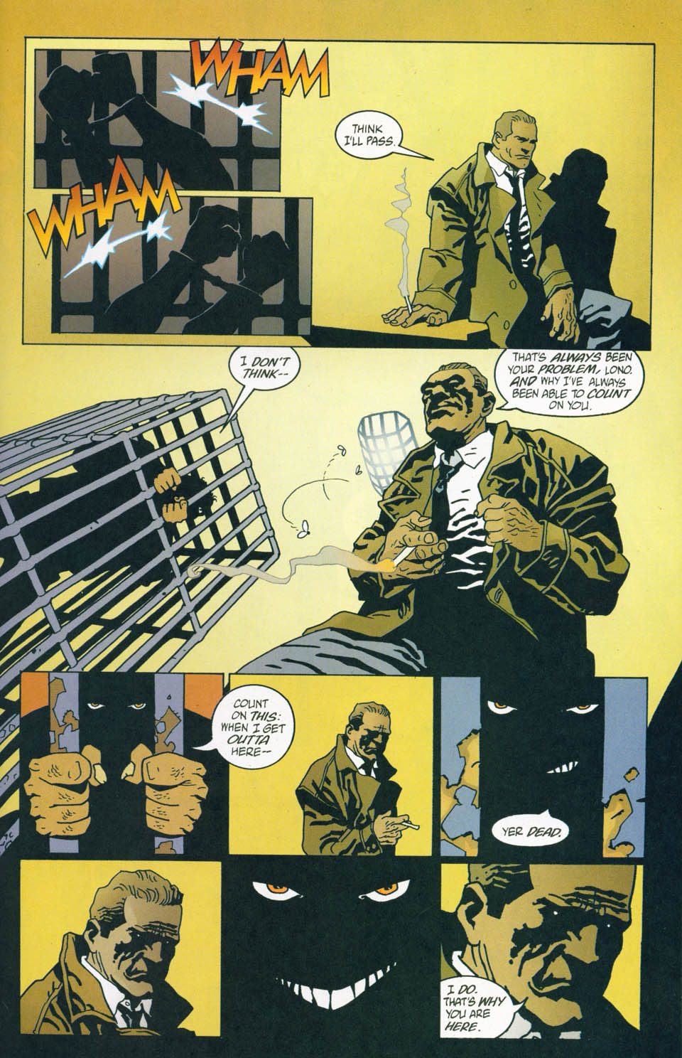 Read online 100 Bullets comic -  Issue #45 - 19