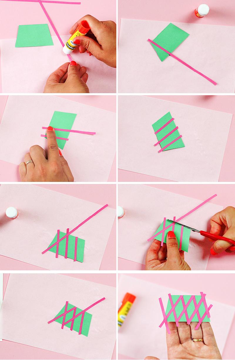etapes construction papier