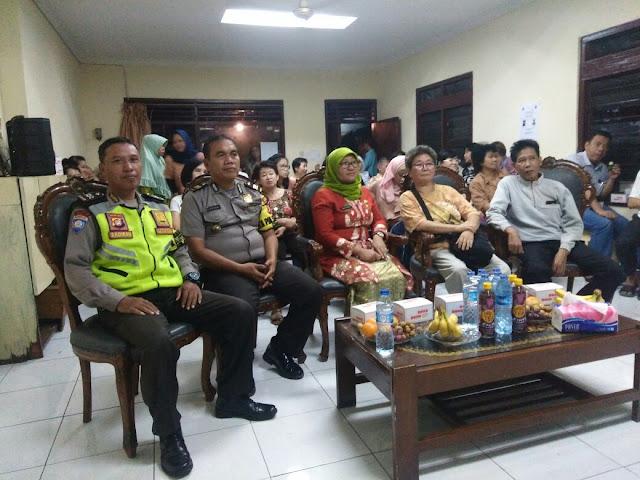Bhabinkamtibmas Polsek Tanjung Duren Hadiri Peremajaan RW 008 Grogol