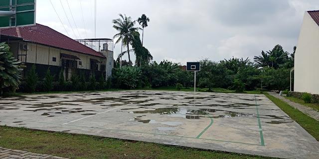 Lapangan Basket Green Park Jl. STM Kampung Baru Medan Sumatera Utara
