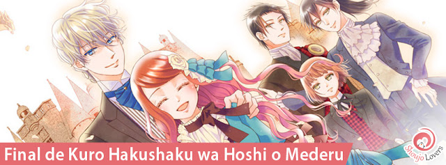 Final de Kuro Hakushaku wa Hoshi o Mederu