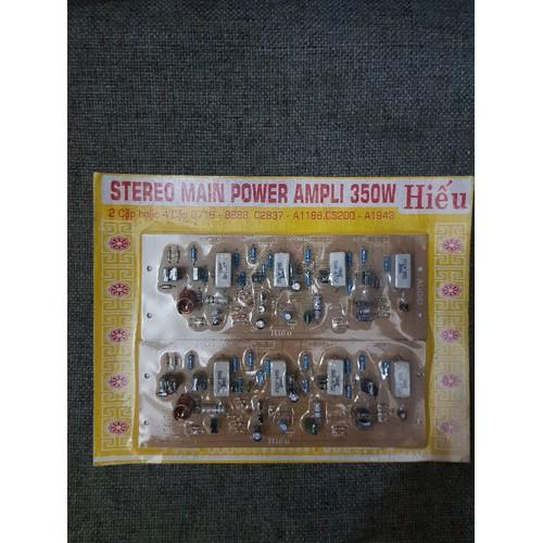 Mạch công suất Hiếu 8 sò 350w HN