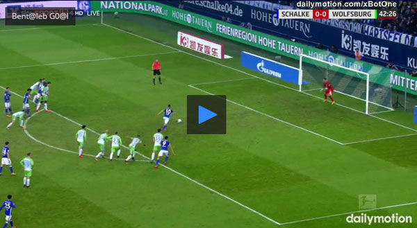 Video Schalke 04 1 - 1 Wolfsburg Bundesliga Vòng 10