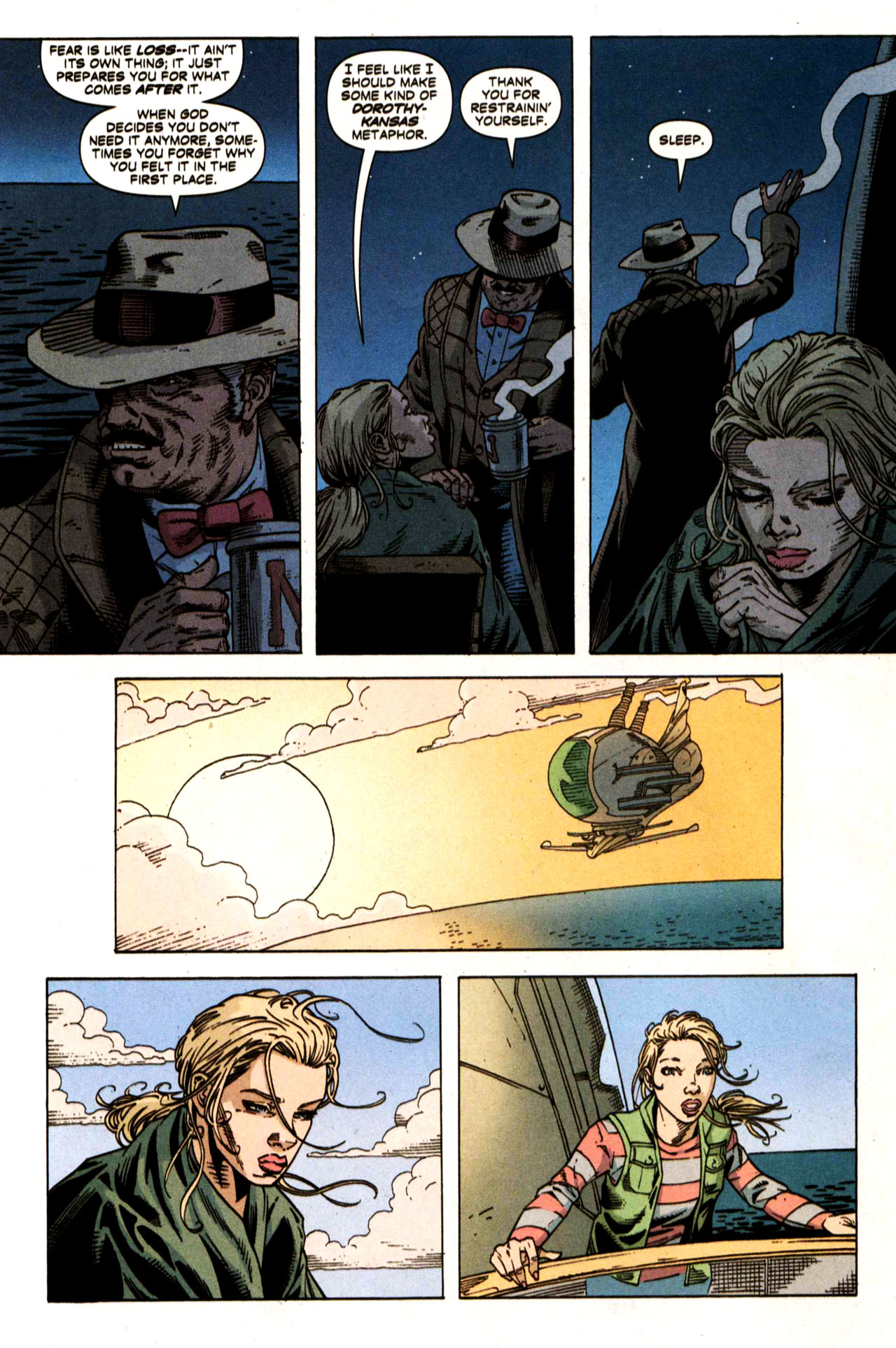 Read online Air comic -  Issue #5 - 12
