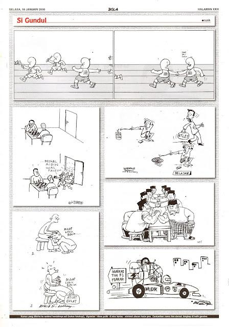 Si Gundul EDISI SELASA, 18 JANUARI 2000