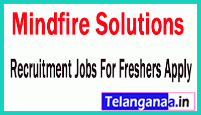 Mindfire Solutions Recruitment Jobs For Freshers Apply