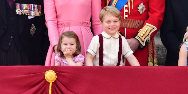 principe George y la Princesa Charlotte