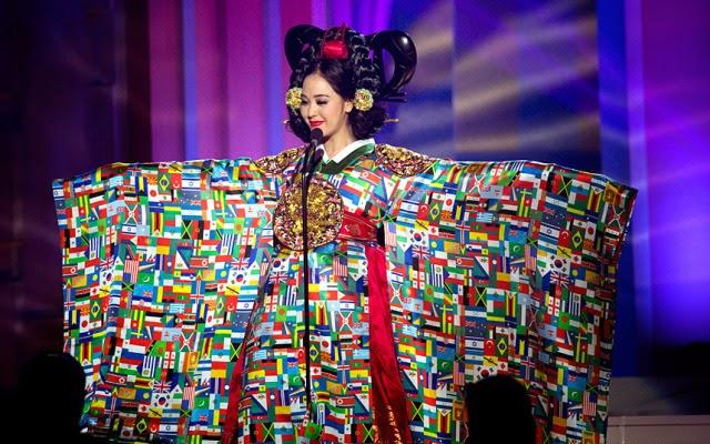 miss china traje tipico ridiculo universo 2015 2016 fotos