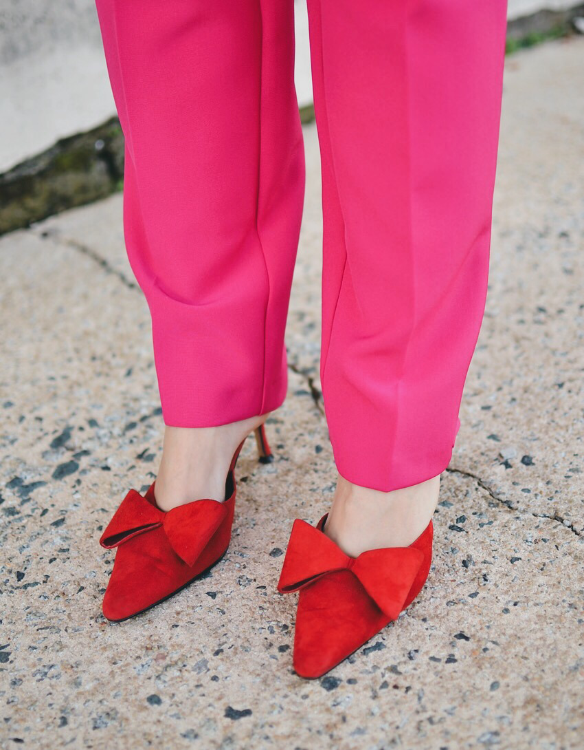 Shoes with bow trend
