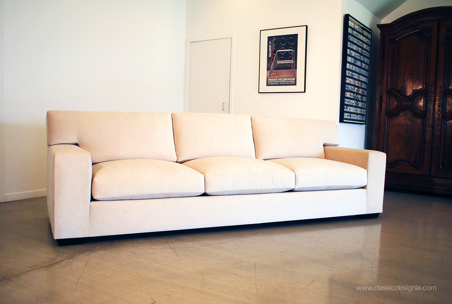 Jean Michel Frank Style Sofa Best Place To Buy A Online Classic Design Beautiful Ivory